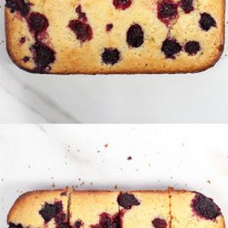 Blackberry-Lavender Cornbread