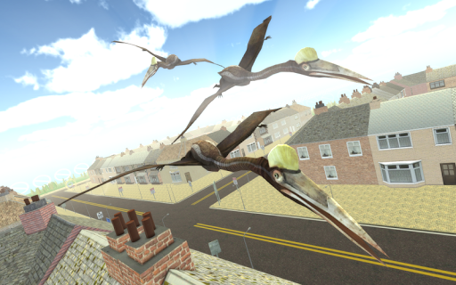 Flying Dinosaur Simulator V2