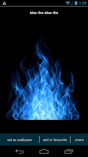 Blue Fire Wallpapers