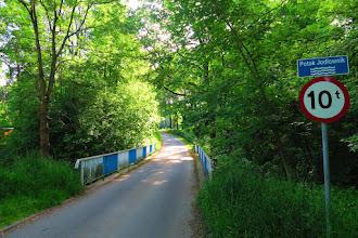 Photo: 100m za potokiem Jodłownik mamy Mariańską Górkę z drogą krzyżową