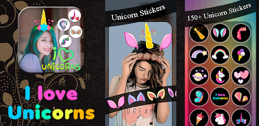Unicorn Photo Editor - Unicorn Stickers APK