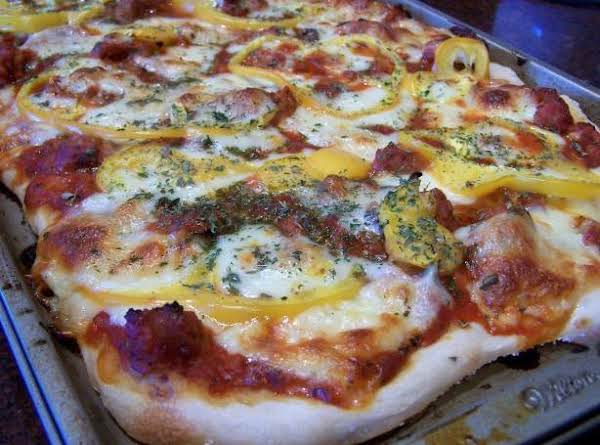 Deep Dish Sausage Pizza Recipe