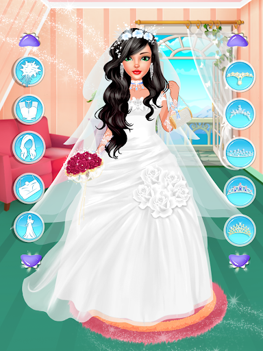 Fashion Wedding Dress Up Designer: Girls Games  screenshots 3