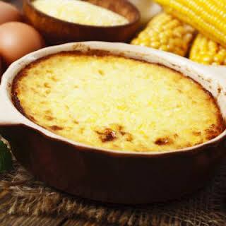 Cheesy Cornbread Casserole.