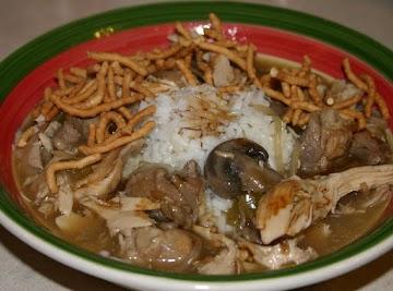 Chicken And Pork Chow Mein Recipe