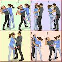self defense technique icon