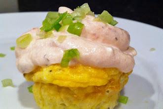 Photo: Sausage and Egg Cupcake: http://bit.ly/U14JkX