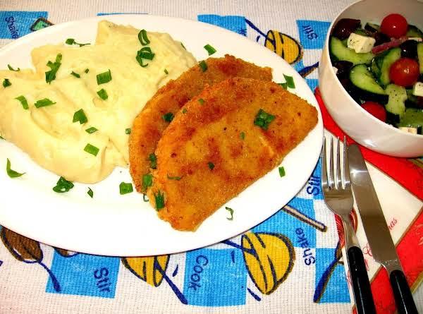 Fried Edam Cheese