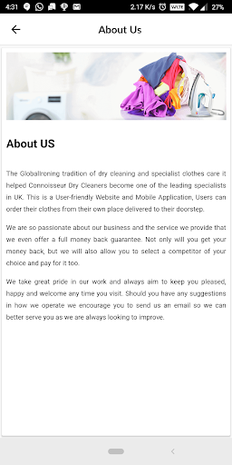 Code Triche Global Ironing APK MOD screenshots 4