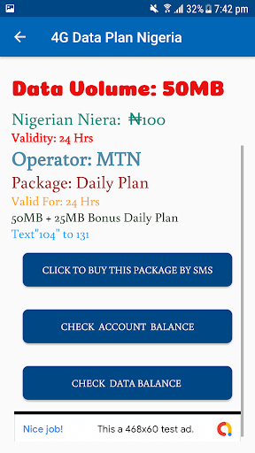Free 4G Data Plan Nigeria 2019 App Report on Mobile Action