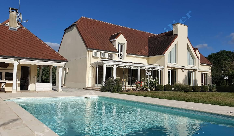 Maison avec piscine et terrasse Bréviandes