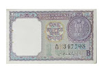 Buy Indian one rupee note online at Mintage World