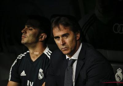 Julen Lopetegui et le Real Madrid à 55 minutes d'un triste record !