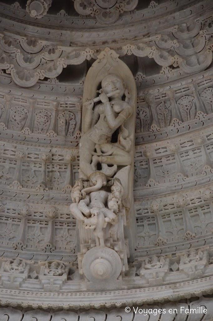 Ranakpur, détail sculpture