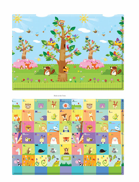 Photo: Birds in the Trees (S size) 1400x1400x11mm (custom fits 8 panel Comflor playard)