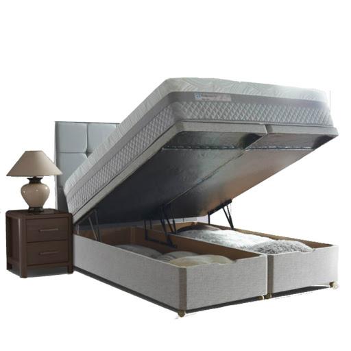 Sealy Alder Memory Divan Bed