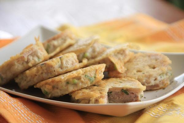 Lotus Root Meat Pie Recipe
