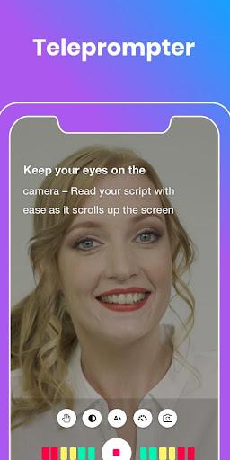 BIGVU teleprompter vlog & subtitle captions maker screenshot 2