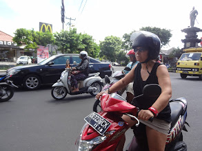 Photo: en route pour TANNAH LOT