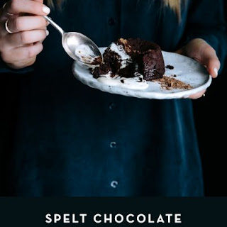 Spelt Chocolate Fondant Cakes Recipe