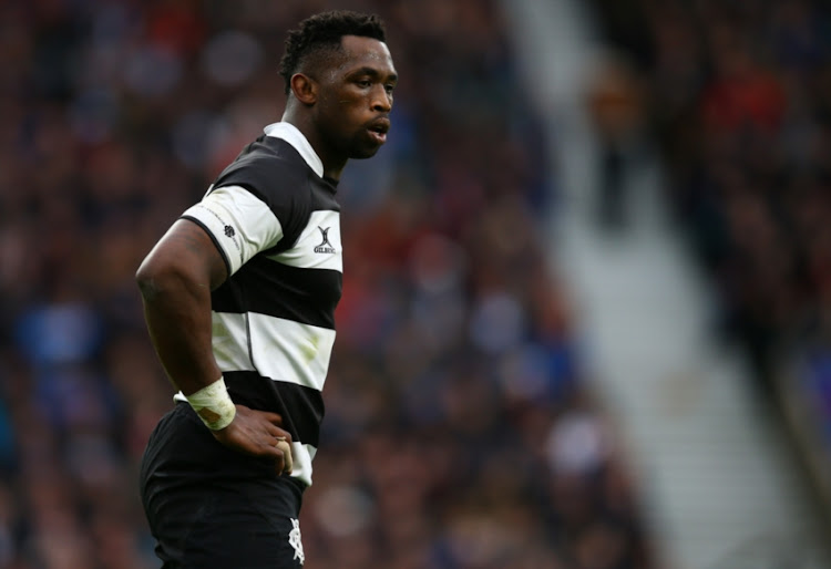 Siya Kolisi (Stormers & South Africa) of the Barbarians during the Killik Cup match between Barbarians and Argentina at Twickenham Stadium on December 01, 2018 in London, England.