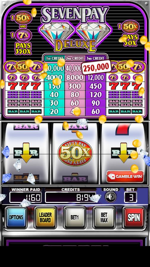 seven diamonds slot machine