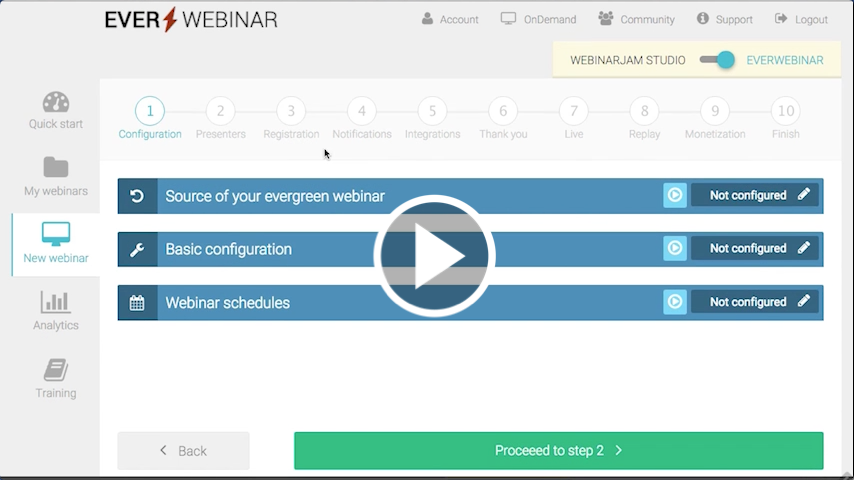 First Look at EverWebinar Software to the public - Automate your leads, sales, profit, and income 5