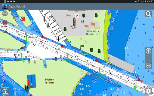 Aqua Map Usa Marine Gps 5 3 Apk By Gec Srl Details