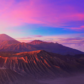 Sun rises in Mt.Bromo by Muhammad Wahyudi - Landscapes Mountains & Hills