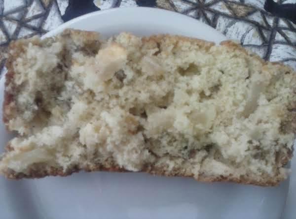 Apple Sunflower Seed Quick Bread