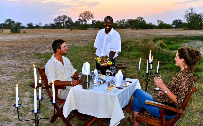 Bomani dinner for two