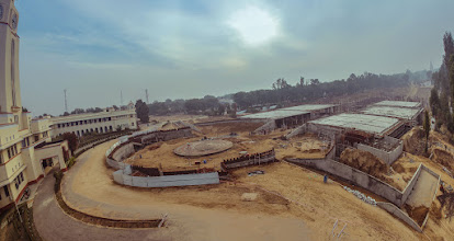 Photo: ongoing construction for the project Parivartan