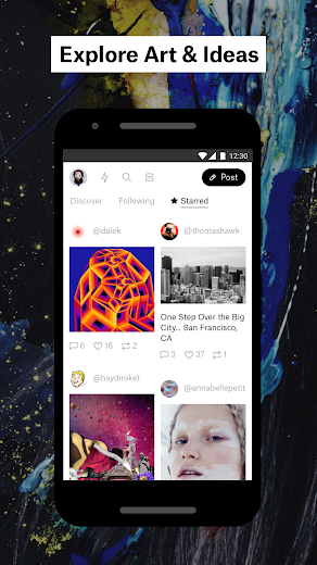 Screenshot 1 for Ello's Android app'