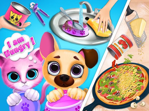 Kiki & Fifi Pet Friends - Furry Kitty & Puppy Care 2.0.98 screenshots 9