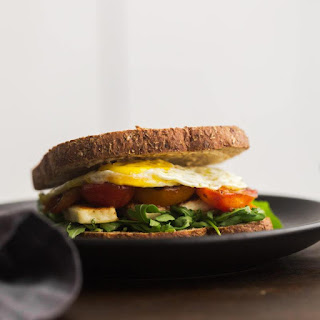 Halloumi Breakfast Sandwich.