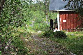 Photo: Fram till stugan