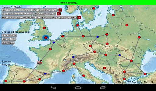 Trains Across Europe TaxE