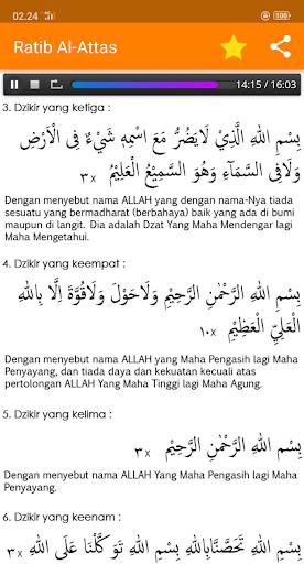 Ratib Al-Attas Lengkap - Terjemah & MP3 screenshot 3