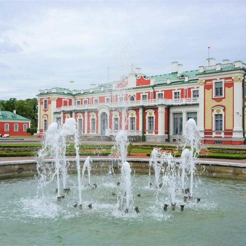 エストニア・タリンにある北方バロックの真珠、ピョートル大帝が建てたカドリオルグ宮殿