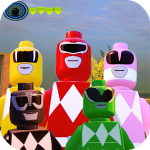 Zonaplays for Lego Power Rangers hero