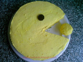 Photo: Torták - Citromos Pacman torta