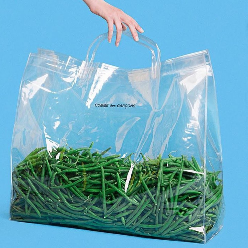 CLEAR TOTE