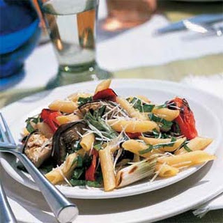 Grilled Italian Vegetables with Pasta
