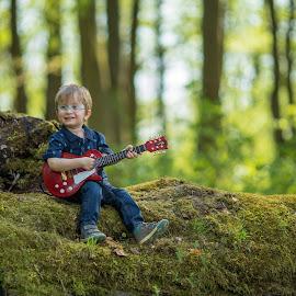 by Michael Eberth - Babies & Children Children Candids ( forest, candid, nature, portrait, boy, people )