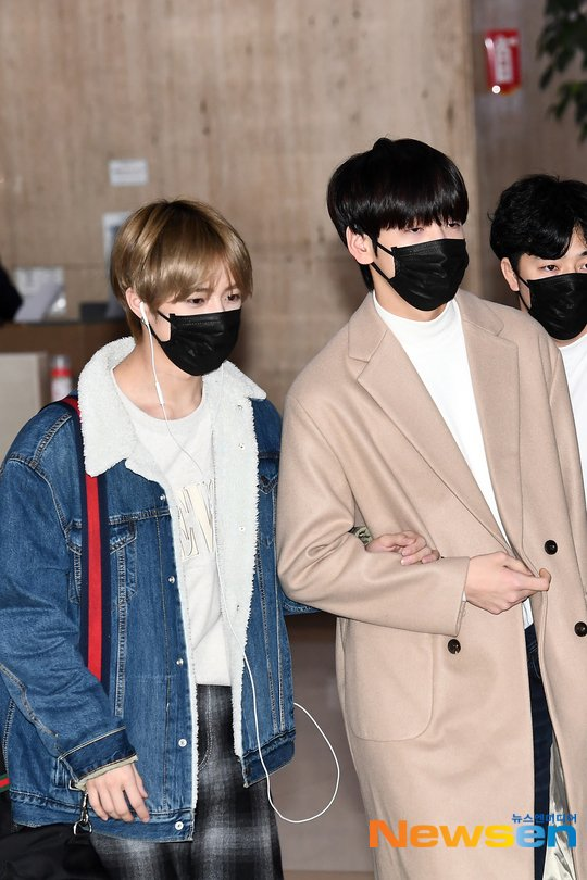 txt beomgyu soobin gimpo airport