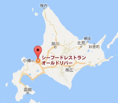 地図:オールドリバー