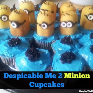 Despicable Me 2 - Minion Cupcakes! Recipe