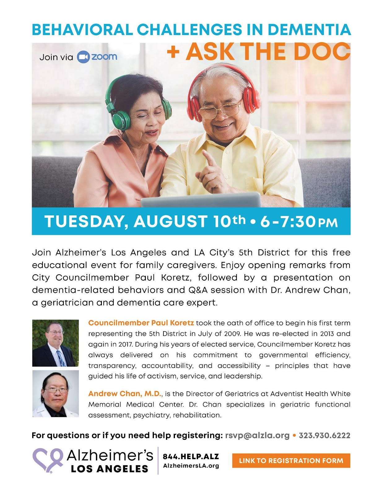 Flyer for Alzheimer Family Care Givers