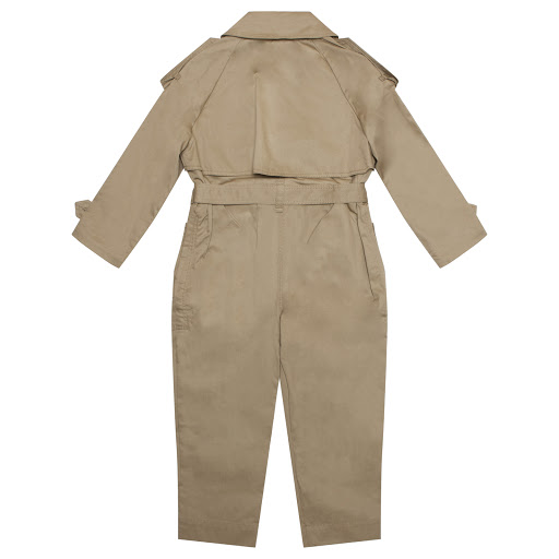 Thumbnail images of Burberry Girls Trench Jumpsuit
