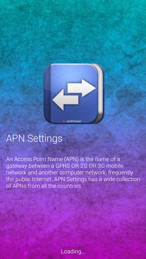 APN Settings- screenshot